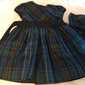 Ralph Lauren plaid dress with bloomers